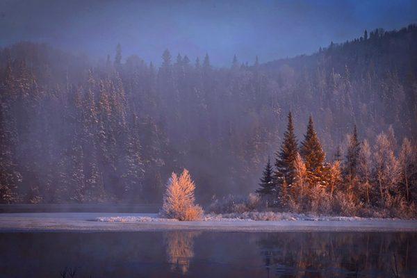 paysage enneigé, Séjour Canada, Agence de Voyage Roadtrip Evasion