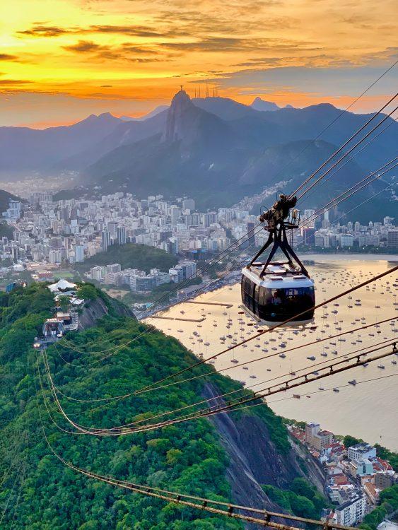telepherique rio Séjour Brésil Agence de Voyage Roadtrip Evasion