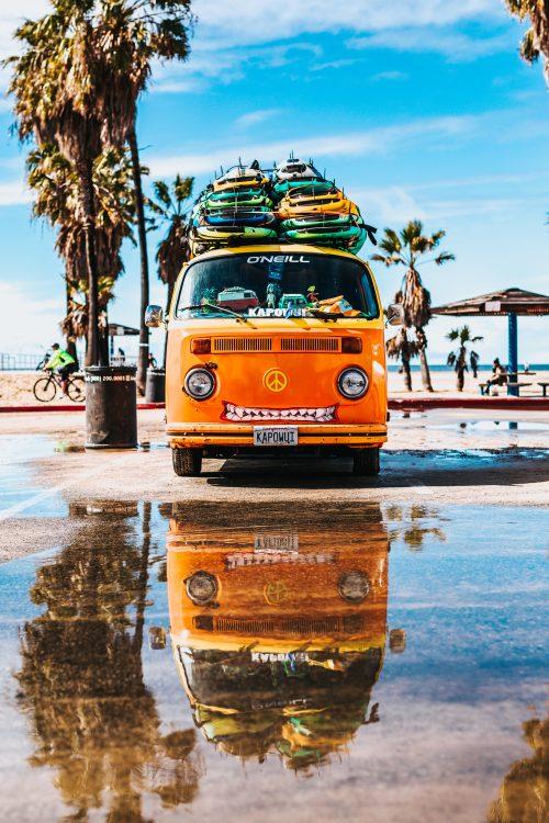Van plage Road Trip Evasion